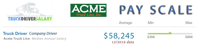 acme truck line pay