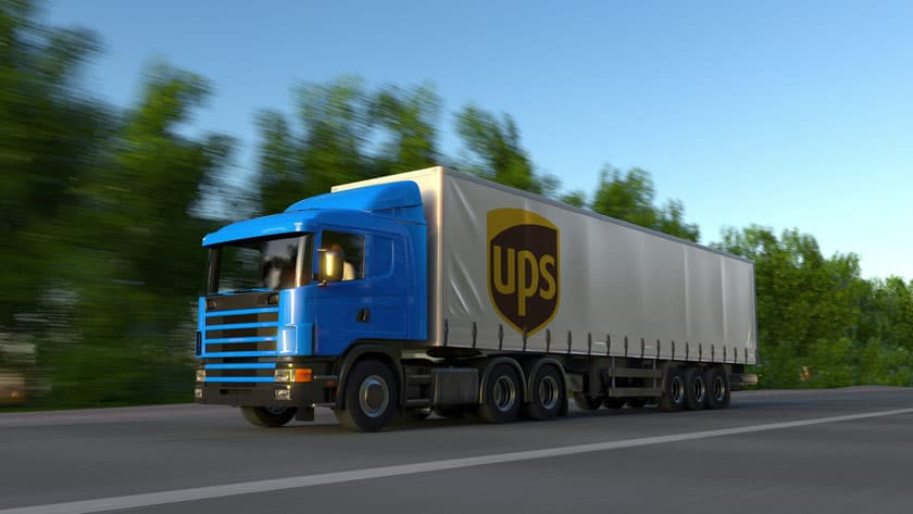 united parcel service freight drivers pay