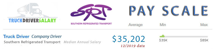 southern refrigerated transport pay