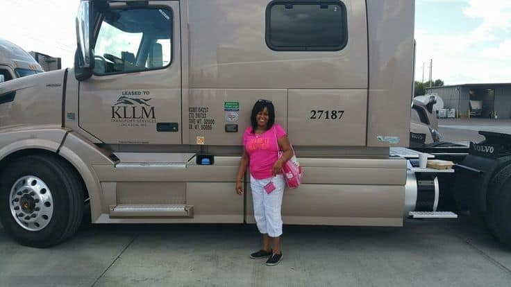 How do you find KLLM trucking jobs?
