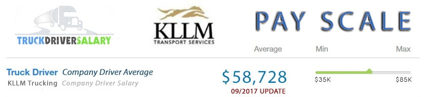 KLLM Trucking Pay