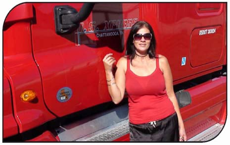 US Xpress Trucking School Graduate