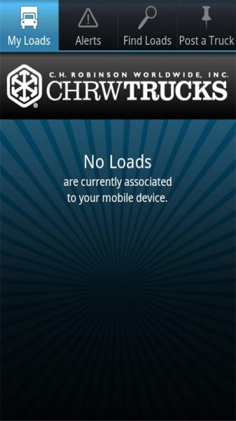 CHRWTrucks login