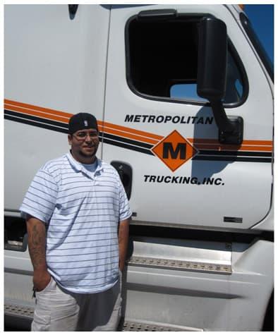 metropolitan trucking jobs