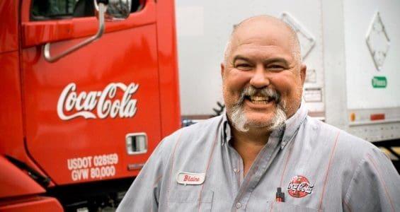 coca cola driver pay