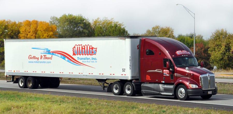 millis trucking