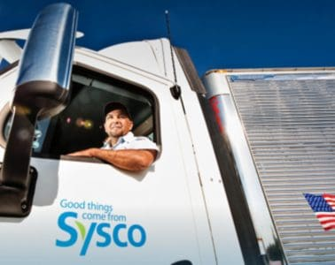Sysco Food Distribution Driver Pay Scale