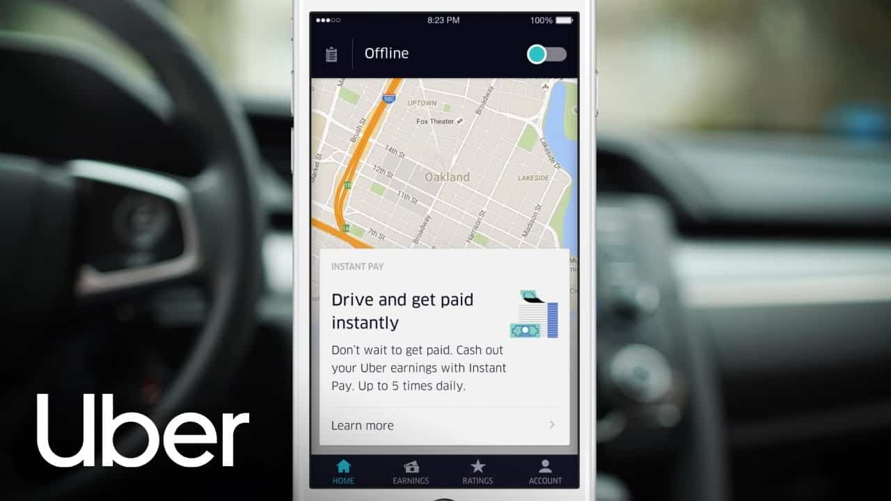 how do uber drivers get paid