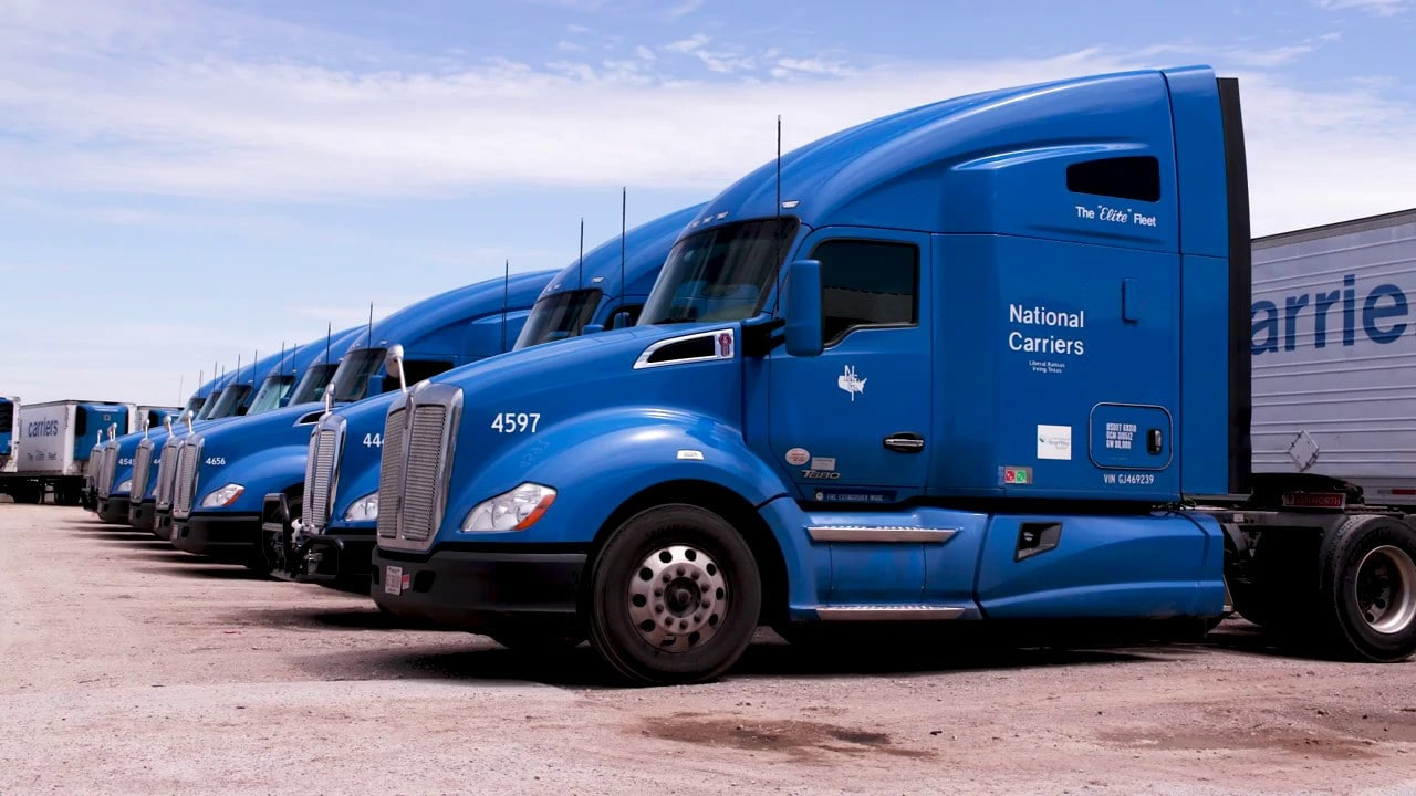 national carriers trucking