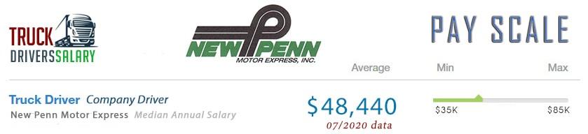 New Penn Trucking Pay