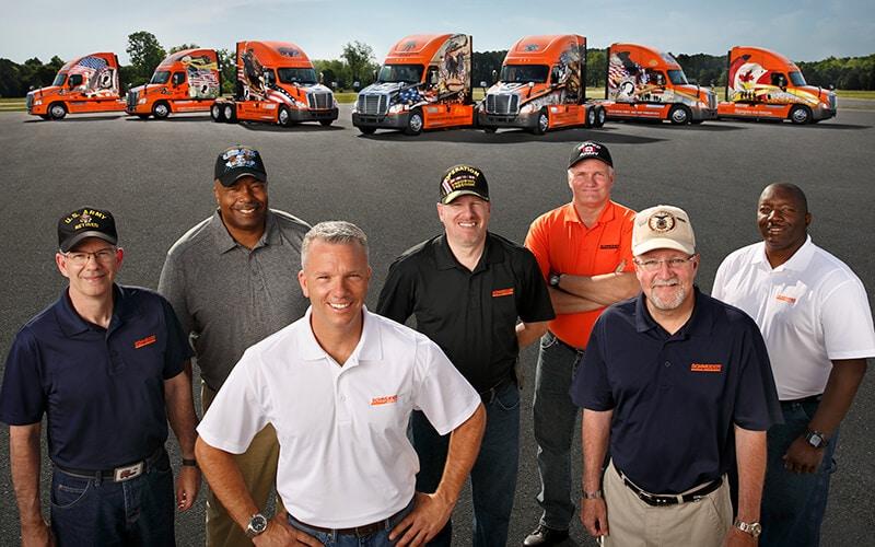 Schneider truck driving jobs for millitary veterans