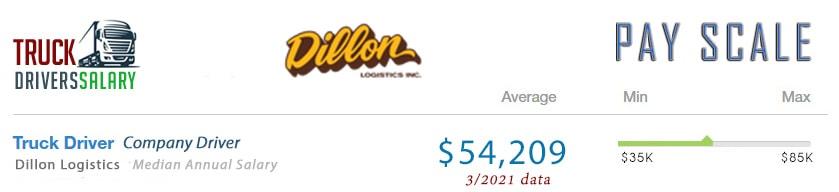 Dillon Logistics Pay