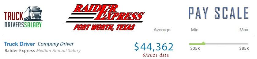 Raider Express Truck Driver Pay